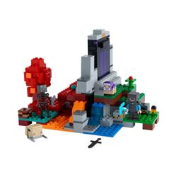 lego minecraft - il portale in rovina - set costruzioni 21172
