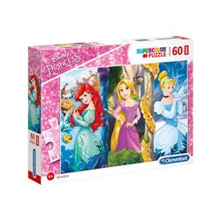 Clementoni Puzzle Supercolor maxi disney princess - principessa 26416a