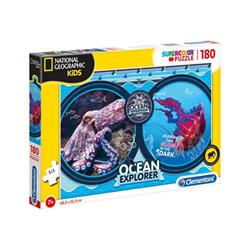 Clementoni Puzzle Supercolor national geographic kids - spedizione oceanica 29205a