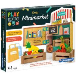 Clementoni PLAY CREATIVE - IL MIO MINI MARKET - 4-6 anni
