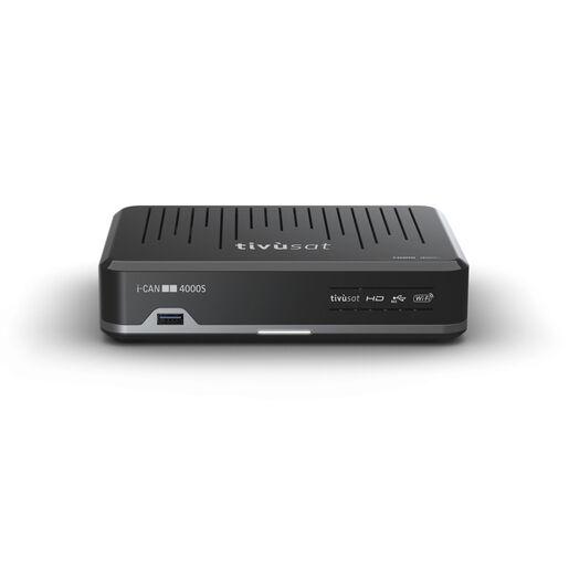 Adb i-CAN 4000S set-top box TV Cavo, Ethernet (RJ-45) Nero