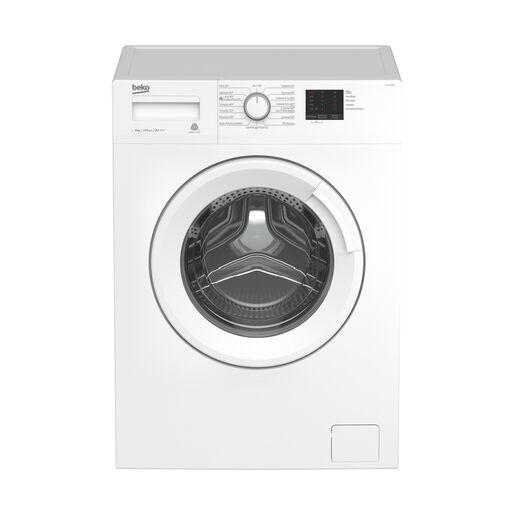 Beko WTX61031W lavatrice Libera installazione Caricamento frontale Bia