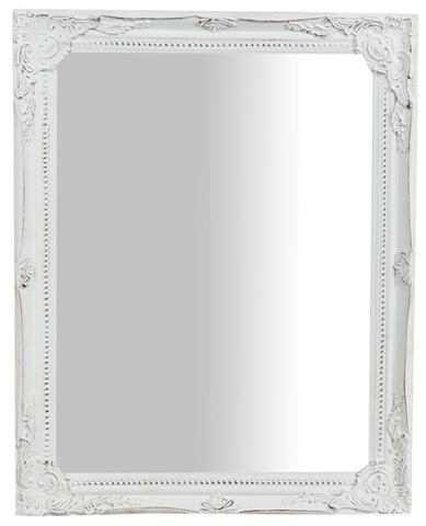 Specchiera da appendere verticale/orizzontale L36,5xPR3xH47 cm finitura bianco anticato.