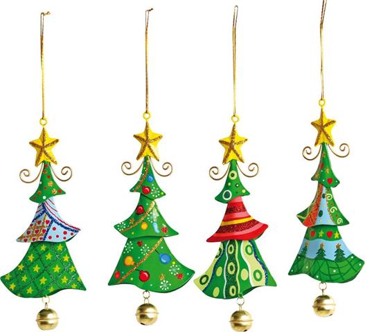 Oggetti Da Appendere Di Metallo «Albero Di Natale» 5147 Natale