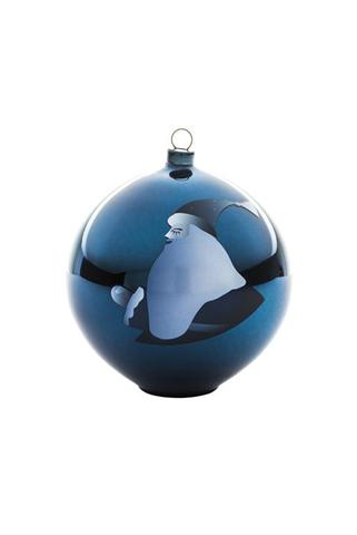 Decorazione Per Albero Di Natale Vetro Soffiato Blu 10X10X10,7 Cm Blue Christmas Alessi