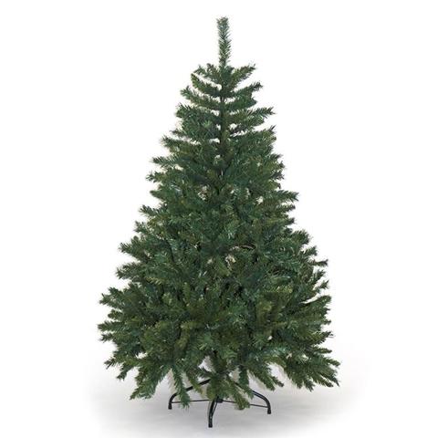 Albero Di Natale Artificiale Alpino Verde Ignifugo 663 Rami Altezza 150Cm
