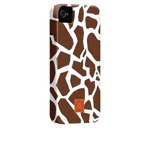 Case-mate iomoi - Giraffe Pattern custodia per cellulare Cover Marrone, Bianco