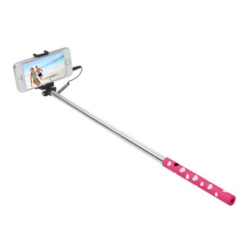 Ultron 173951 Smartphone Rosa, Argento, Bianco bastone per selfie