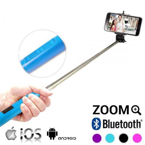 Bastone Selfie Bluetooth con Zoom