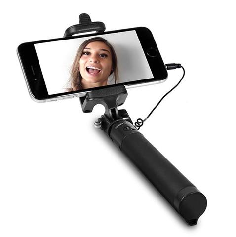 Fresh 'n Rebel 5SS050BL bastone per selfie Smartphone Nero