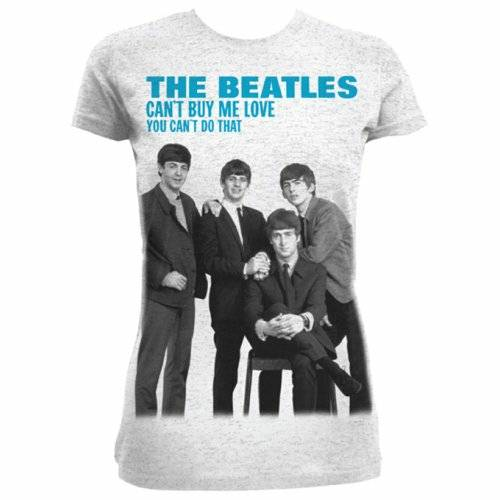 T-Shirt Donna The Beatles. You Can't Buy Me Love