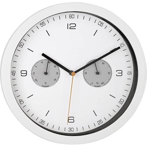 Mebus 52826 Radiocontrollato Kit apprendimento orologio da parete 260 mm x 42 mm Bianco
