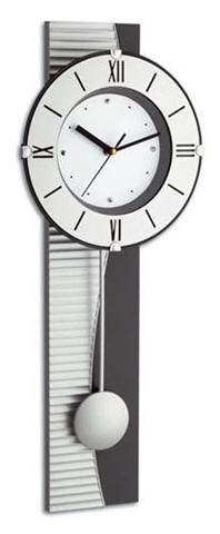 TFA-Dostmann 60.3001 orologio da parete Argento
