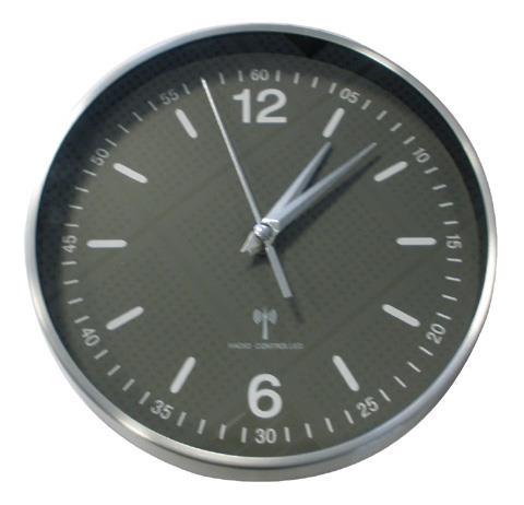 TFA-Dostmann 60.3503 orologio da parete Alluminio, Nero