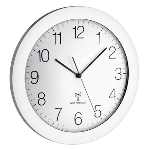 TFA-Dostmann 60.3512.02 orologio da parete Orologio da parete meccanico Cerchio Bianco