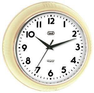 Orologio da parete al quarzo Cerchio Avorio Trevi OM 3314 S