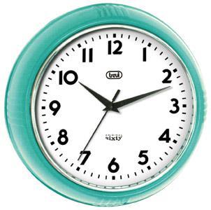 Orologio da parete al Quarzo Cerchio Turchese Trevi OM 3314 S