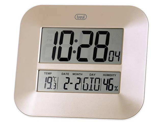 Orologio Digitale da parete con Grande Display TREVI OM 3520 D Bronzo
