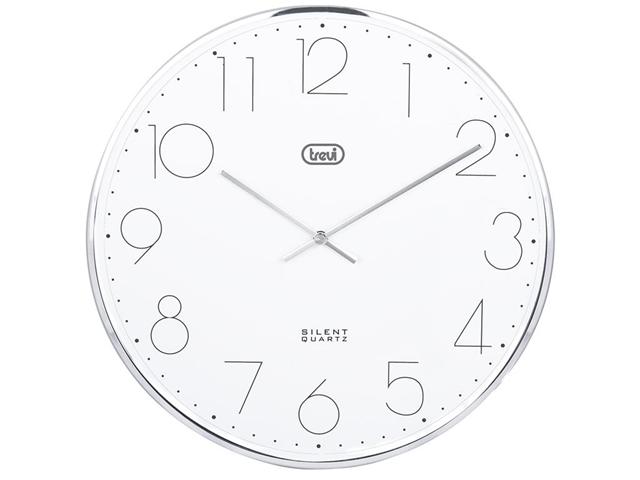 Orologio da parete 30 cm TREVI OM 3512 S Silver