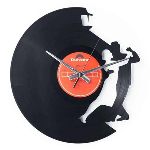 Orologio da muro con disco in vinile TANGO
