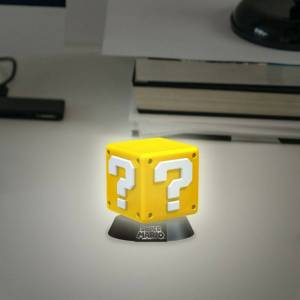 Nintendo Lampada Nintendo. Question Block 3D