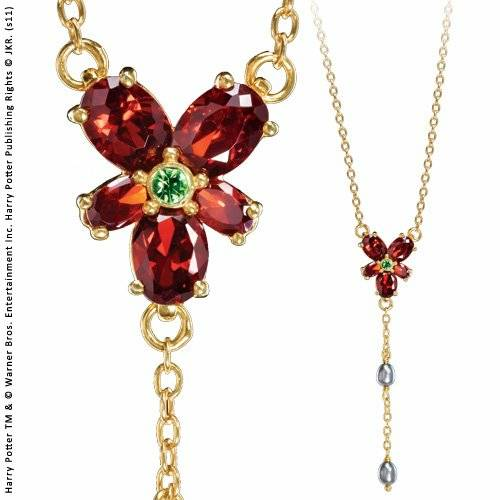Collana Harry Potter. Hermione Red Crystal