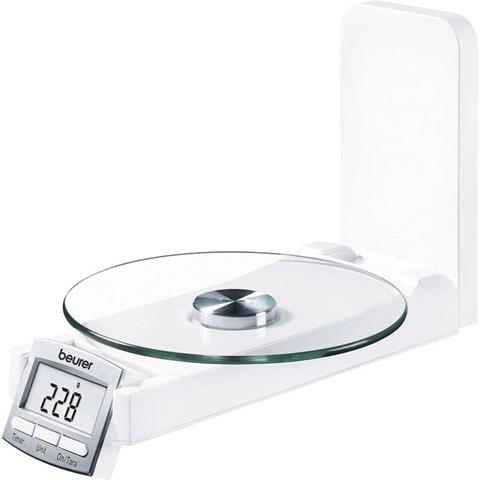 Bilancia da cucina digitale, con fissaggio a parete Beurer KS 52 Portata max.=5 kg Bianco
