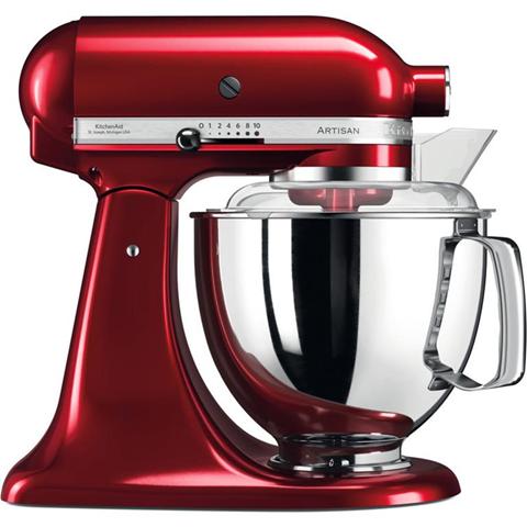 KitchenAid Artisan robot da cucina 4,8 L Rosso 300 W