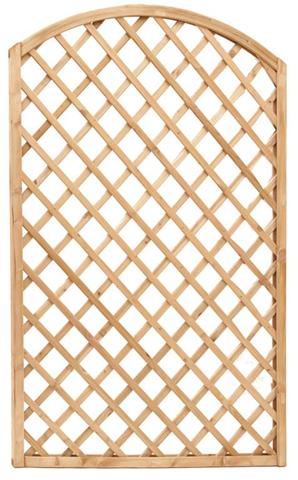 Pannello grigliato arco 90x180h-2 pz. mod.44 in legno di pino impregnato