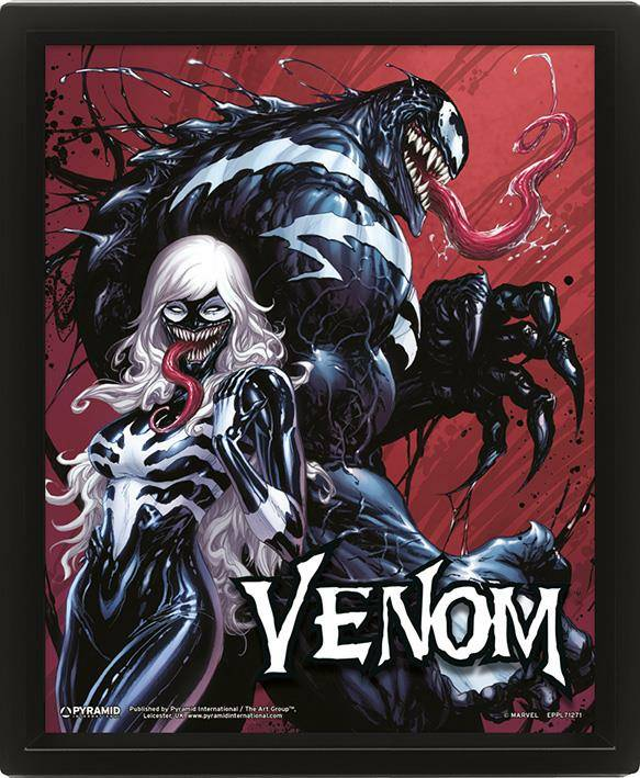 Poster Lenticolare 3D Venom Teeth And Claws 10X8 3D
