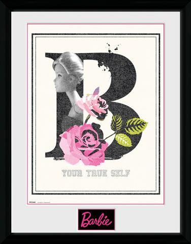 Stampa in cornice 30 x 40 cm Barbie. True Self