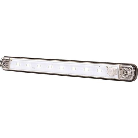 Luce LED da interni 12 V LED alta potenza (L x A x P) 238 x 25 x 10.4 mm Rilevatore di movimento, Accensione automatica