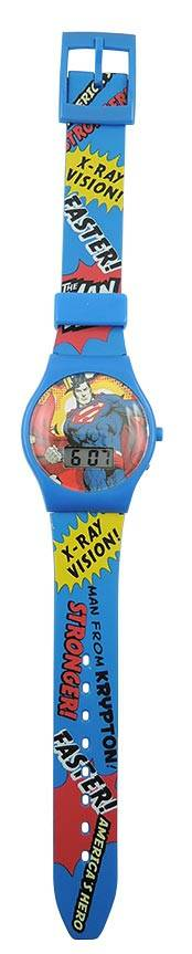 Orologio Lcd Superman