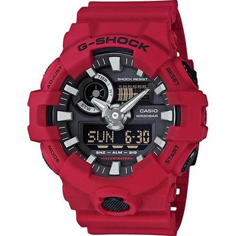 Casio G-Shock GA-700 Quarzo (batteria) Orologio da polso Maschio Rosso