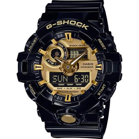 Casio G-Shock GA-710 Quarzo (batteria) Orologio da polso Maschio Nero