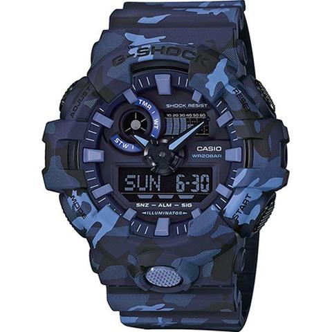 Casio G-Shock GA-700CM-2AER orologio Quarzo (batteria) Orologio da polso Unisex Blu