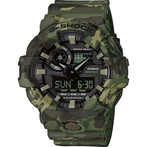 Casio G-Shock GA-700CM-3AER orologio Quarzo (batteria) Orologio da polso Unisex Verde