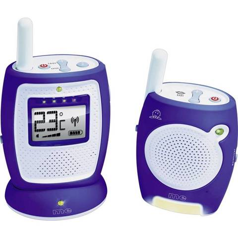 Babyphone Digitale m-e modern-electronics 10604 Funk-Babyphone DBS 5 2.4 GHz
