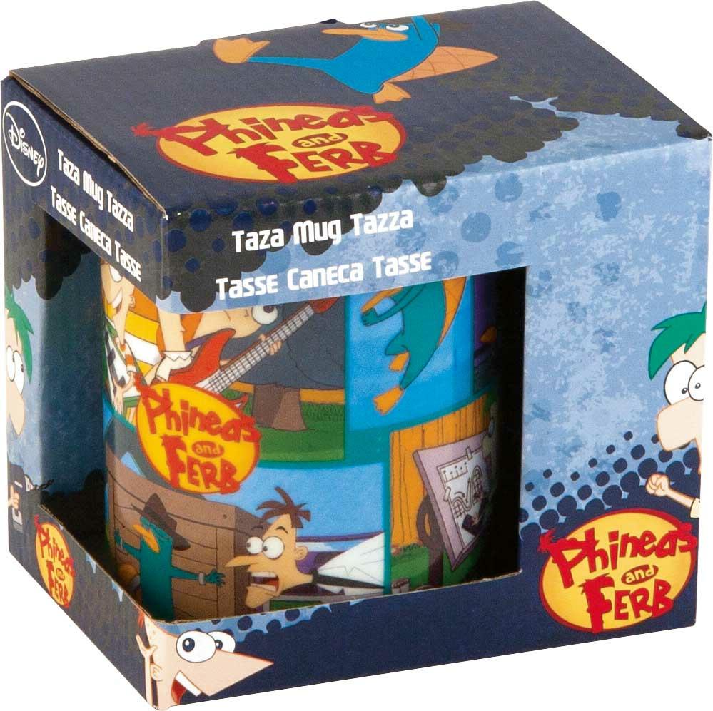 Tazza Phineas e Ferb in Porcellana