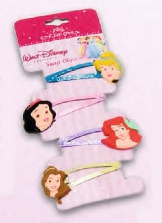 Disney Principesse Disney. 4 Fermacapelli