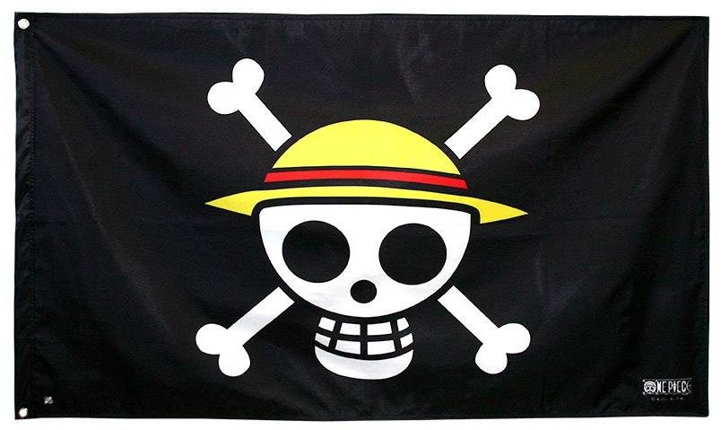 Bandiera One Piece. Skull Luffy