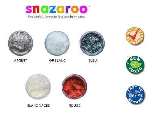Snazaroo Gel Glitter Azzurro