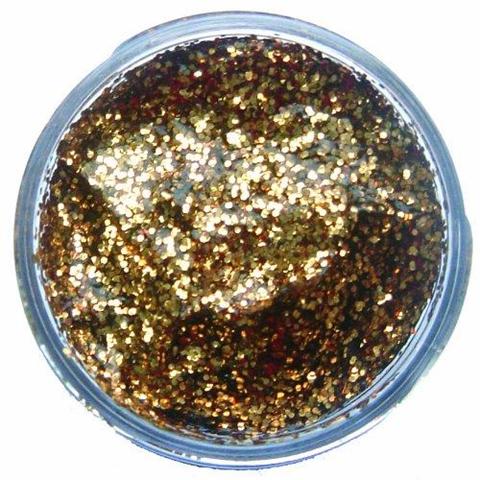 Snazaroo Gel Glitter Oro Rosso