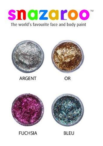 Snazaroo Polvere Glitter Multicolor