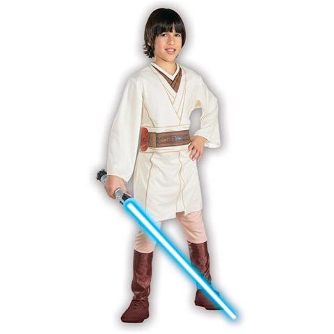 Costume Obi-Wan Kenobi Star Wars Originale Bambino Large 8 -10 Anni 148 cm