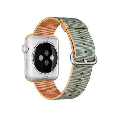 Apple Cinturino per Apple Watch MMA02ZM/A Watch strap Nylon Blu, Oro