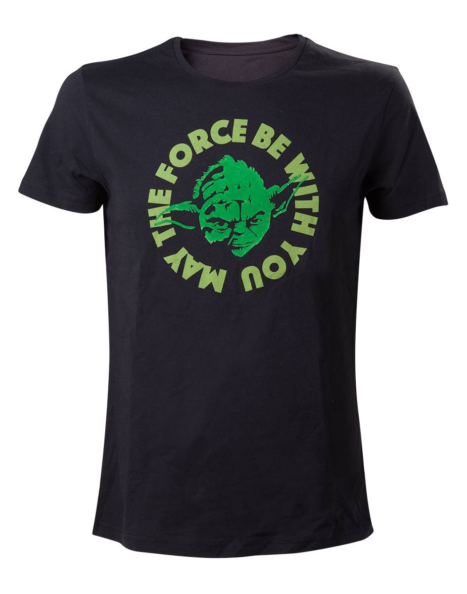 T-Shirt unisex Star Wars. May The Force Be With You
