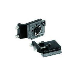 Manfrotto 200USS Universal adapter plate treppiede Nero