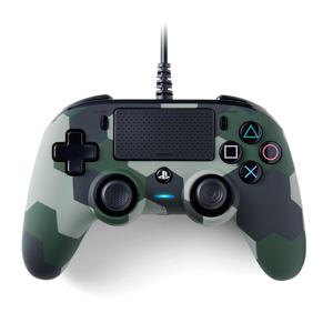NACON Wired Compact Gamepad PC,PlayStation 4 Analogico/Digitale USB Mimetico