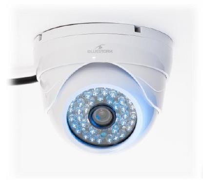 Bluestork BS-CAM/DO/HD Telecamera di sicurezza IP Interno Cupola Bianco 1280 x 720Pixel telecamera di sorveglianza